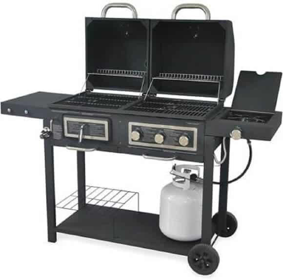 Backyard Dual Gas/Charcoal Grill