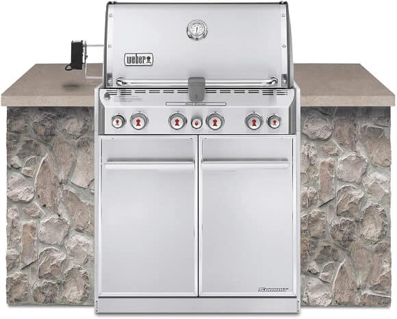 Weber Summit S-460 Built-In Natural Gas Grill