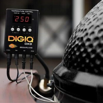 DigiQ DX3 BBQ Temperature Controller and Digital Meat Thermometer