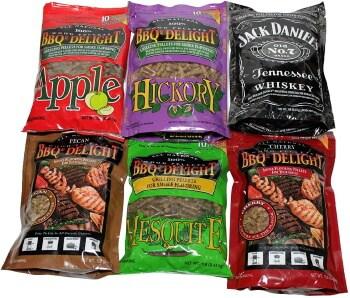 BBQrs Delight Wood Smoking Pellets - Super Smoker Variety Value Pack