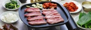 Bacon on an electric griddle